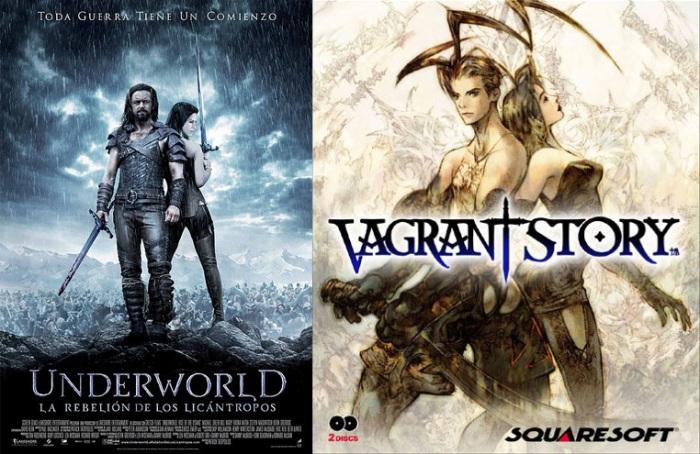 obviamente, el argumento y calidad del juego de Squaresoft para Playstation, le da mil vueltas a la saga Underworld...