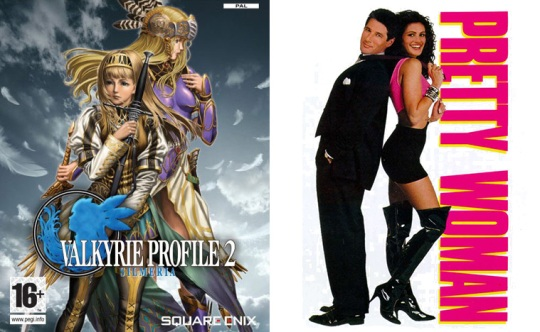 Valkyrie Profile 2 y Pretty Woman