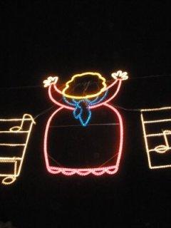 Marijaia luminosa en la Aste Nagusia del año pasado (foto de anuskacosgaya.blogspot.com)