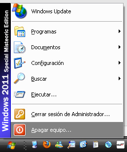 Windows 2011 Special Misteorias Edition