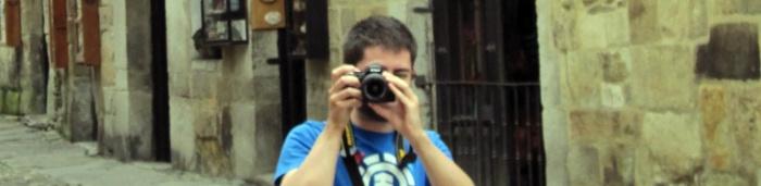 notelies cámara en mano